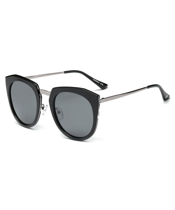 Cramilo CA12K Mirrored Polarized Sunglasses