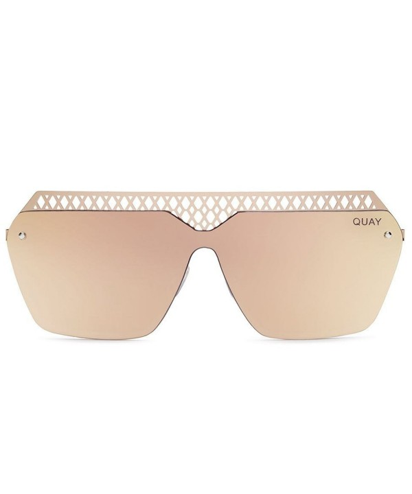 Quay Australia Womens Sunglasses Rectangular