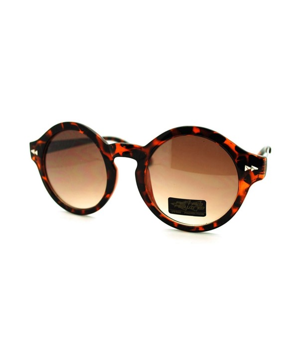 Vintage Fashion Keyhole Sunglasses Tortoise