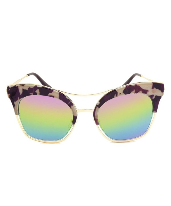 Dasein Fashion Polarized Sunglasses Iridescent