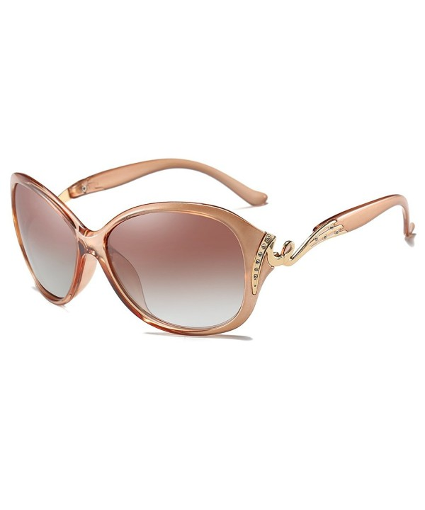 Fashion Sunglasses Protection Polarized Champagne