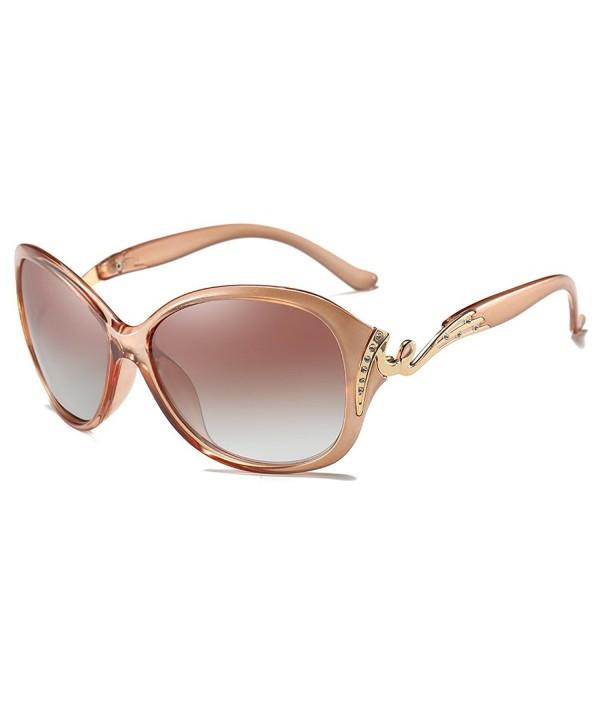 Fashion Sunglasses Protection Polarized Champagne