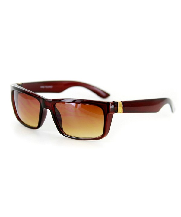 Highway Vintage Inspired Wrapping Wayfarer Sunglasses