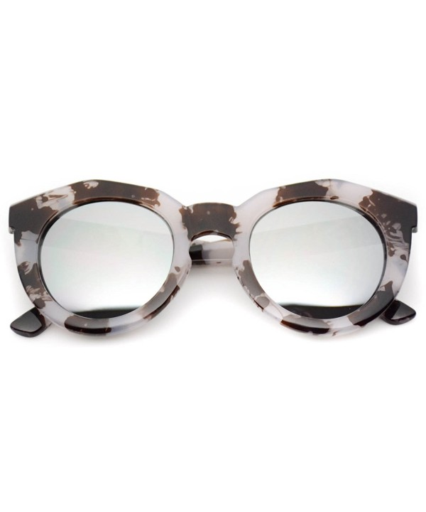 WearMe Pro Oversized Mirrored Sunglasses