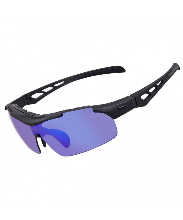 Polarized Sunglasses Cycling Interchangeable Baseball