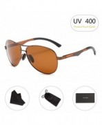 Aviator Sunglasses RAYSUN Aluminum Polarized