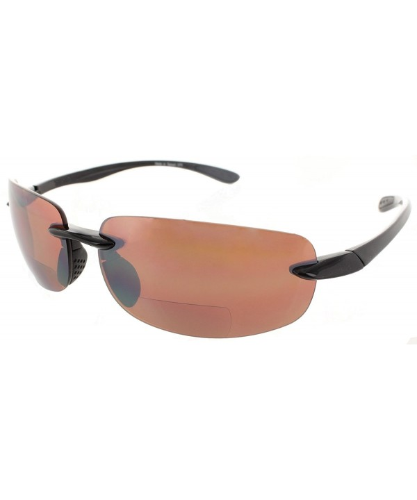 Bifocal Sunglasses Rimless Readers Lightweight