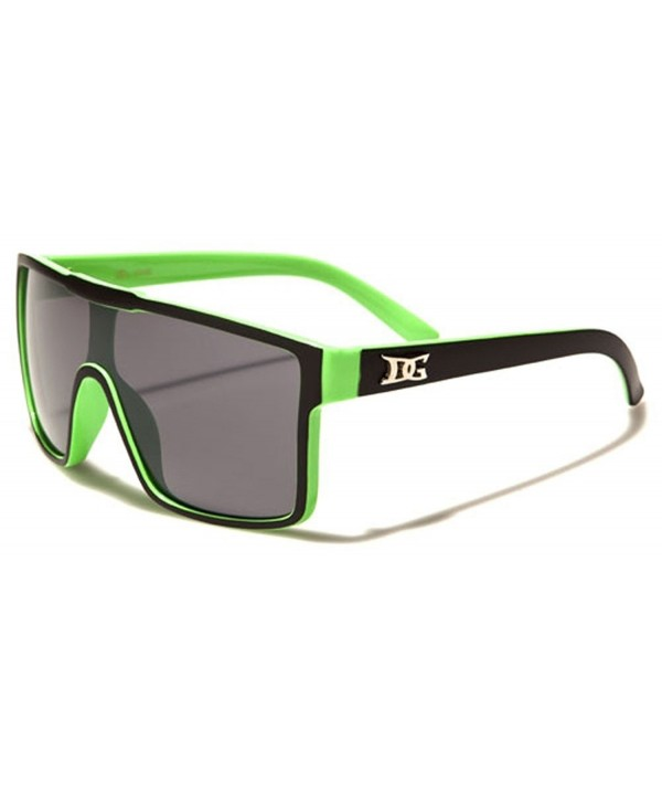 DG Eyewear Mens Shield Sunglasses