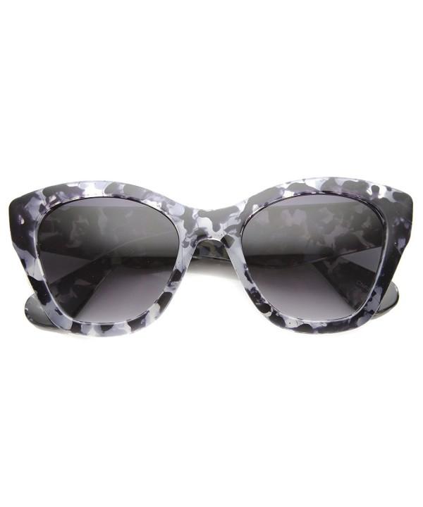 zeroUV Womens Tortoise Sunglasses Lavender