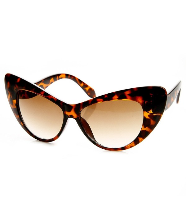 zeroUV Extremely Oversized Sunglasses Dark Tortoise