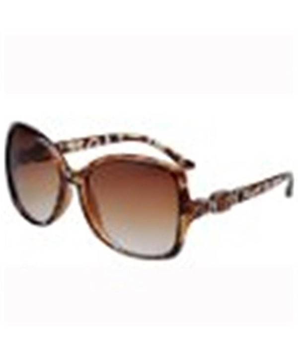 Qingsun Over sized Spotting Sunglasses Leopard