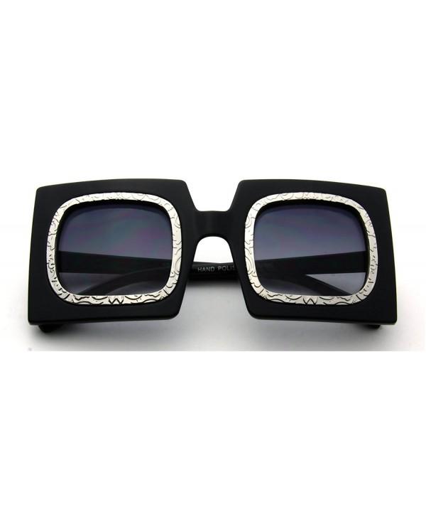 Eyewear Fashion Oversized Square Sunglasses