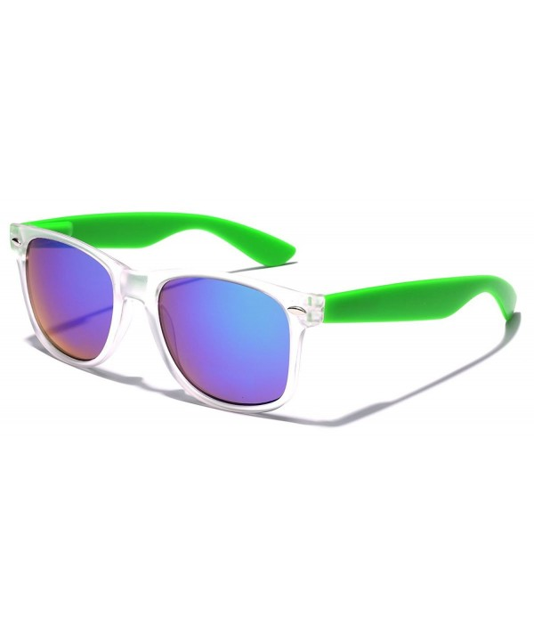 Colorful Retro Fashion Sunglasses Translucent