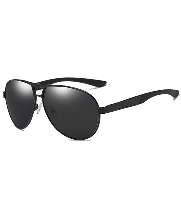 LUDEM Oversized Sunglasses Polarized Protection