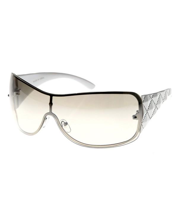 zeroUV Designer Inspired Shield Sunglasses
