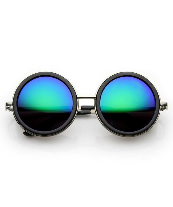 zeroUV Premium Sunglasses Silver Black Midnight