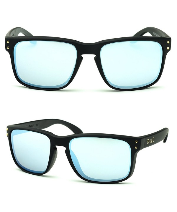 B N U S Stylish Mirror Fashion Sunglasses