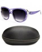 D1067 cc Designer Eyewear Sunglasses Silver Smoked