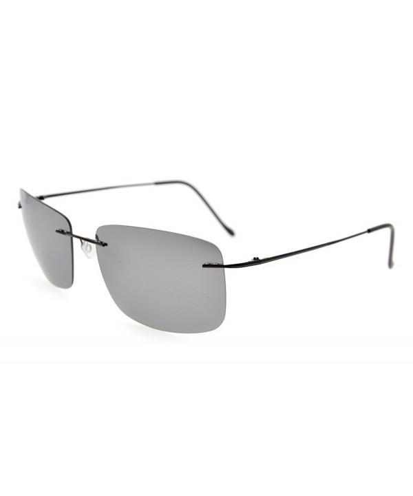 Eyekepper Titanium Rimless Sunglasses Polarized