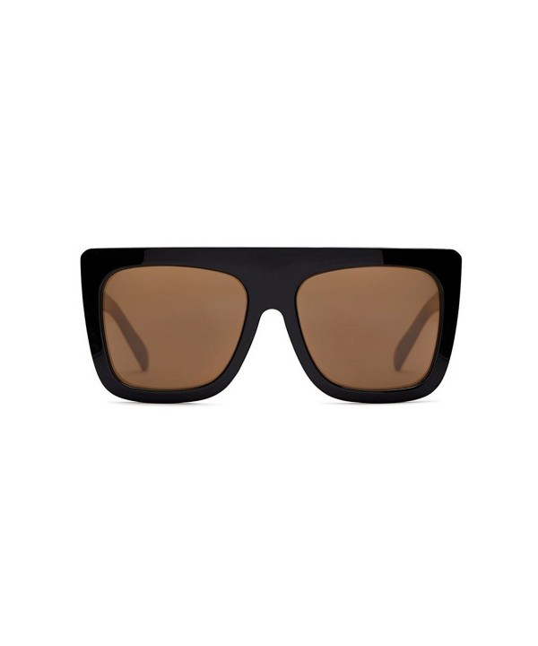 Quay Racer Oversized Sunglasses Black