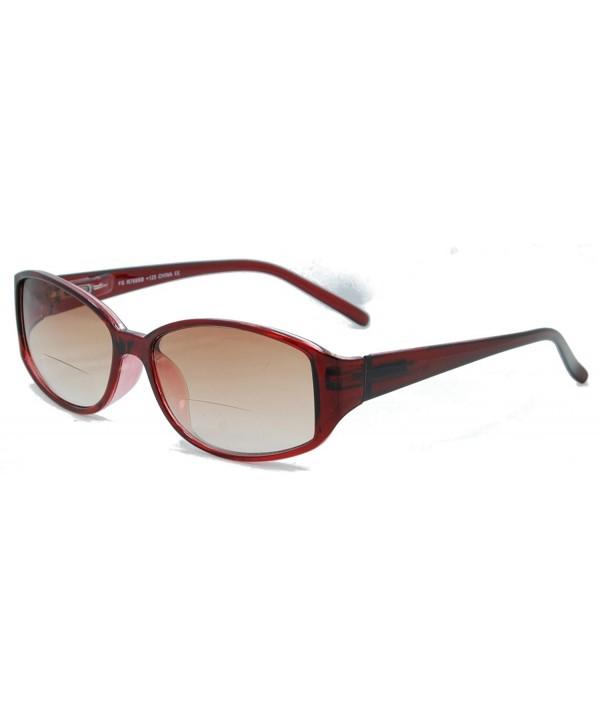Style Eyes Sunglasses Burgundy Strength