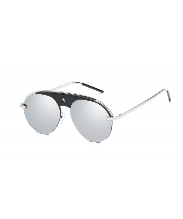 FEISEDY Evolution Aviator Sunglasses Composite