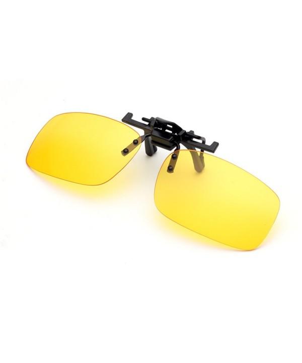 Night Driving Clip Glasses Prescription