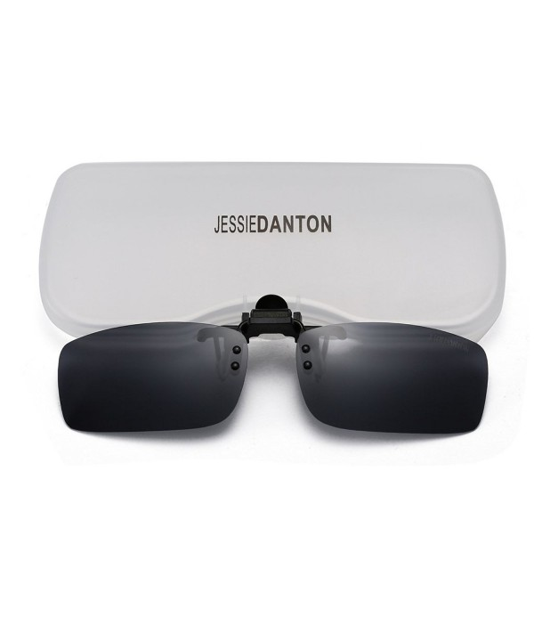 JESSIEDANTON Polarized Rimless Sunglasses Lightweight
