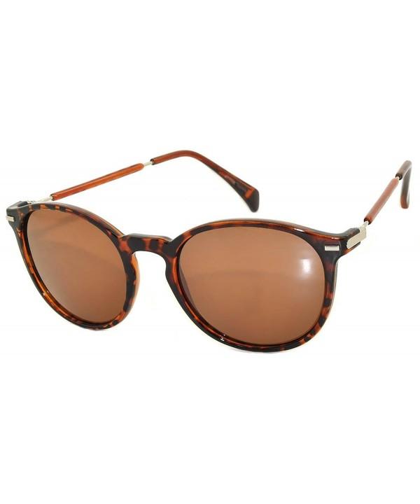 Retro Round Vintage Sunglasses Leopard