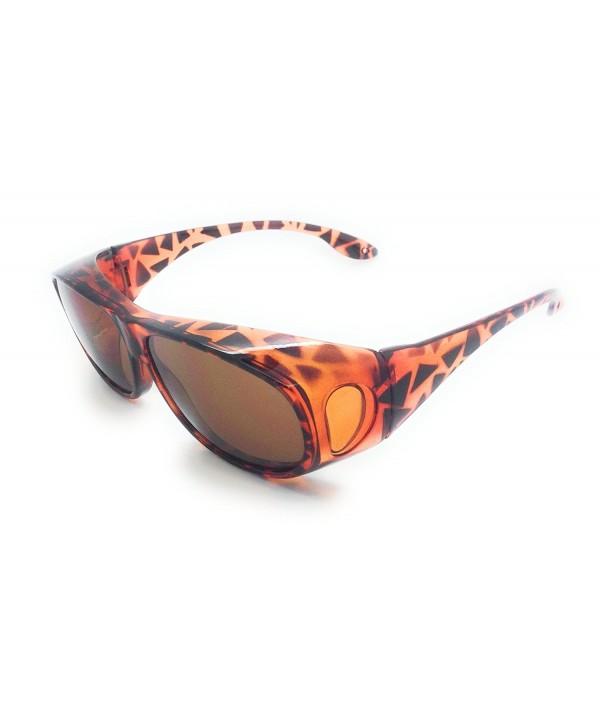 MyUV Prescription Glasses Sunglass Brown
