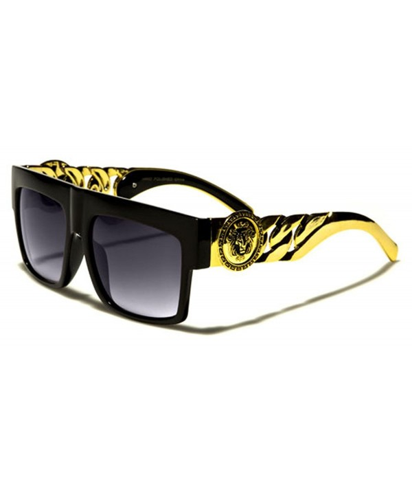 Chain Rapper Aviator Celebrity Sunglasses