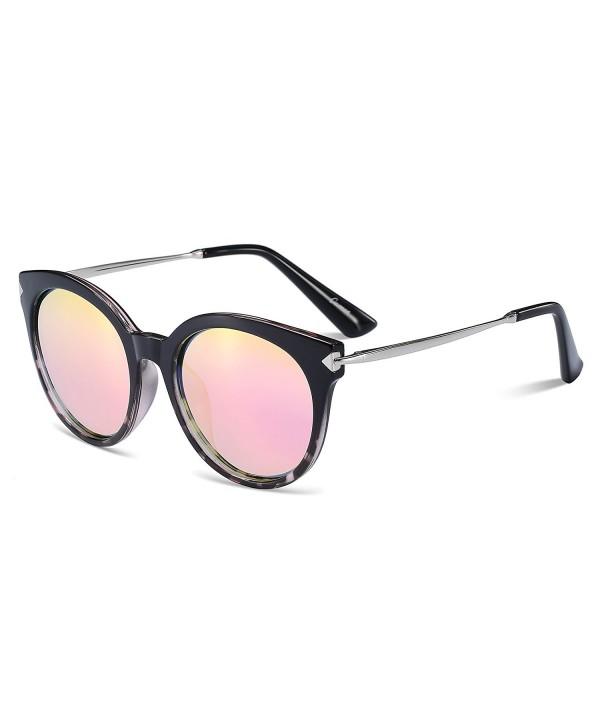 CAXMAN Womens Cateye Polarized Sunglasses