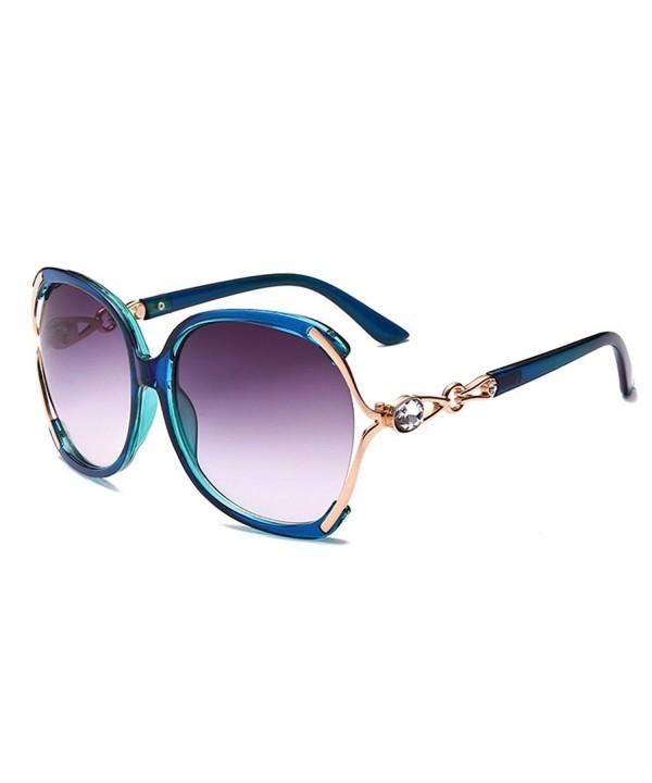 HOHAUSA Fashion Oversized Sunglasses Protection