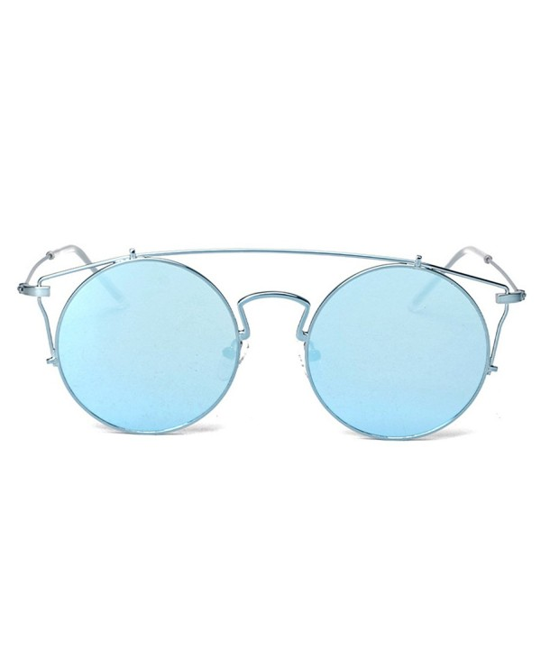 TIJN Womens Cutout Highbrow Sunglasses