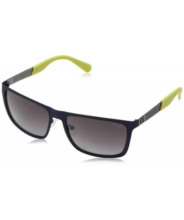 GUESS Mens James Square Sunglasses