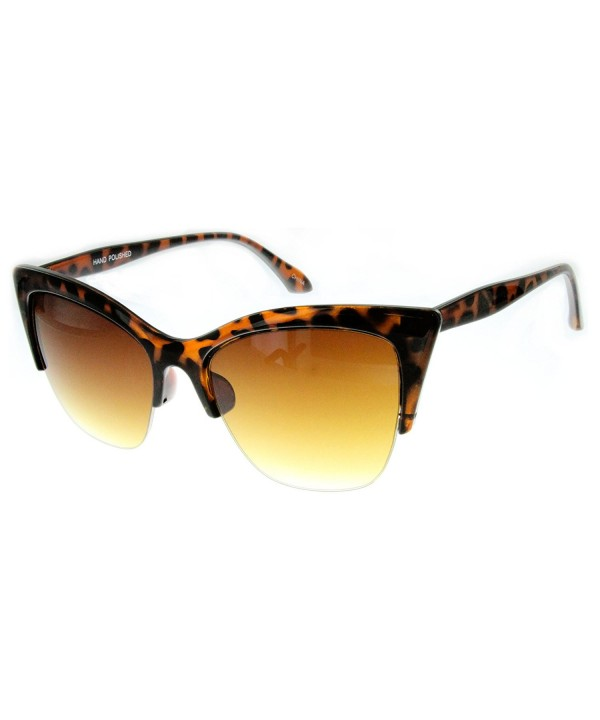 Aloha Eyewear Womens Sunglasses Semi Rimeless