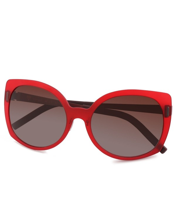 Polarized Cat Eye Sunglasses Fashion Plastic