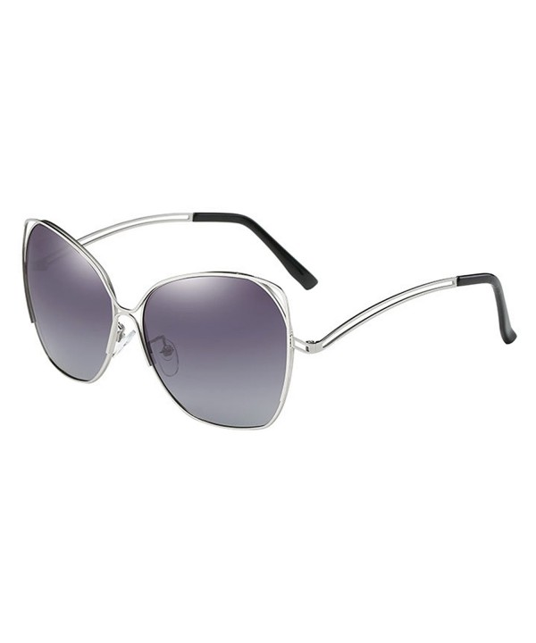 VeBrellen Oversized Polarized Butterfly Sunglasses
