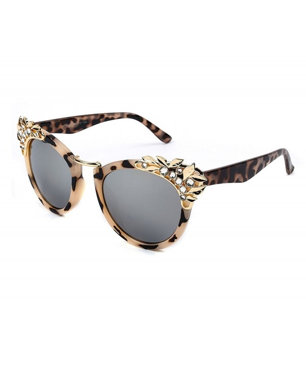 Heartisan Inlaid Crystal Personalized Sunglasses