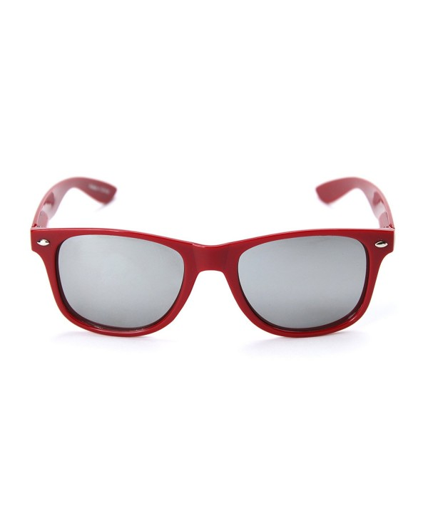 Alabama Silver Sunglasses Crimson AL 1