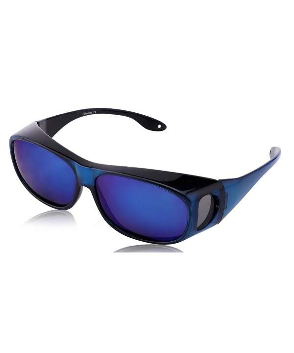 TINHAO Polarized Shield Fitover Sunglasses