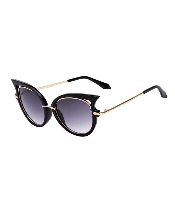 QingFan Vintage Glasses Fashion Sunglasses