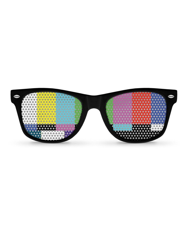 SIGNAL Black Retro Party Sunglasses