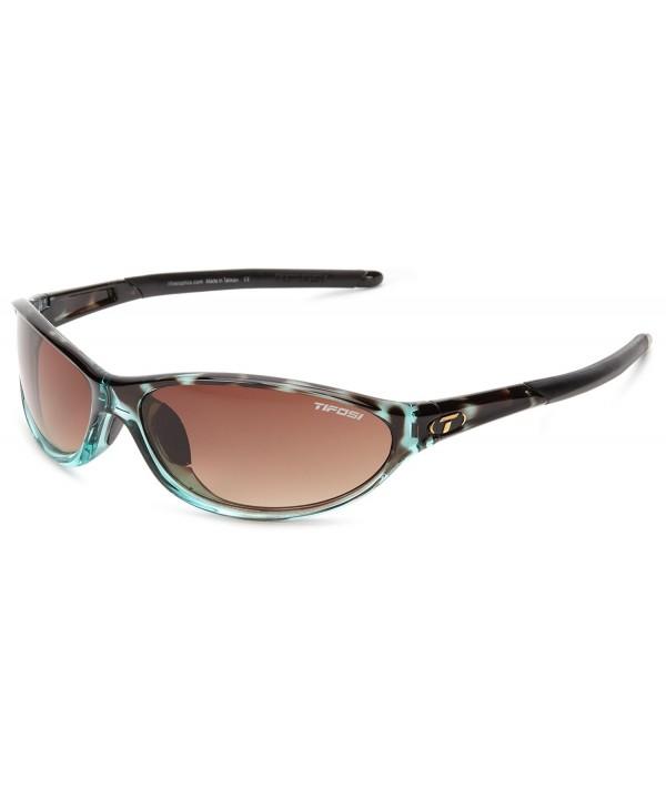 Tifosi womens SingleLens Sunglasses Tortoise