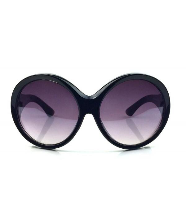 Designer Fashion Oversized Round Sunglasses