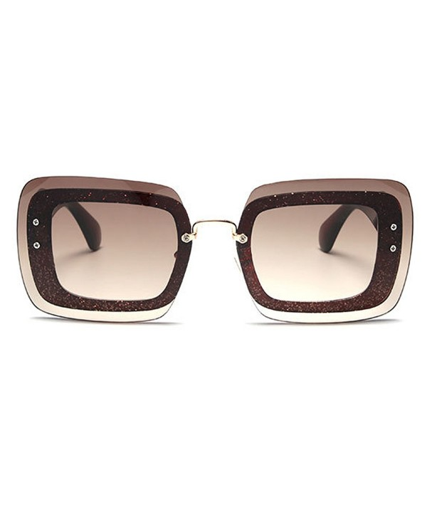 TIJN Oversized Square Sunglasses Sunnie