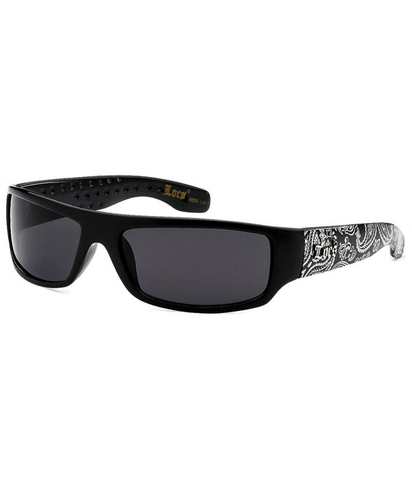 Locs 9003 Silver Bandana Sunglasses