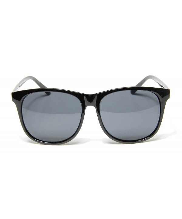 Oversized Square Sunglasses Retro Plastic