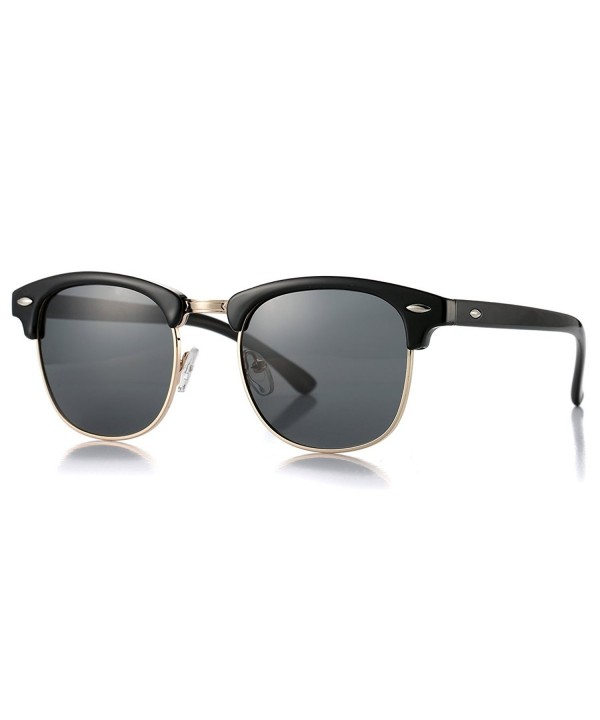 Polarized Rimless Clubmasters Sunglasses COASION