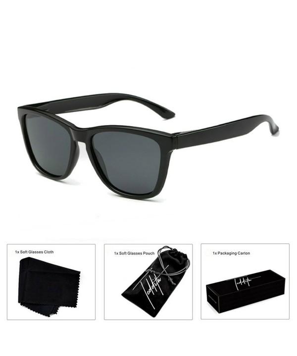 Teddith Polarized Sunglasses Gradient Plastic